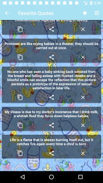 Babies Quotes screenshot 6