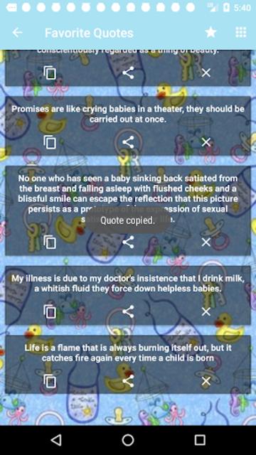 Babies Quotes screenshot 7