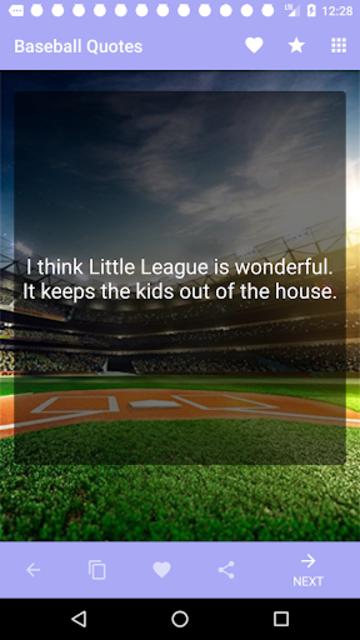 Baseball Quotes screenshot 2