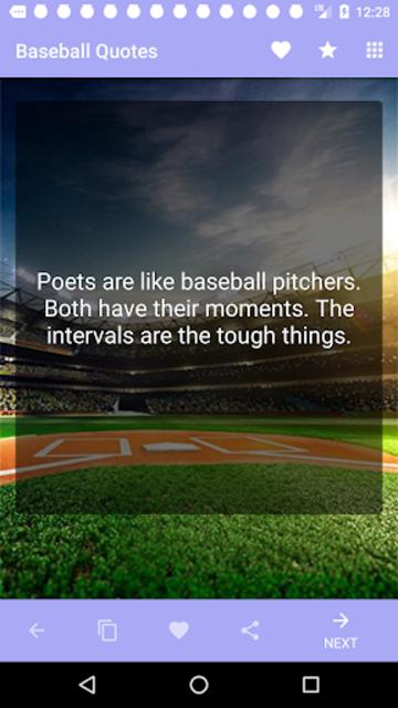 Baseball Quotes screenshot 3