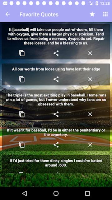 Baseball Quotes screenshot 5