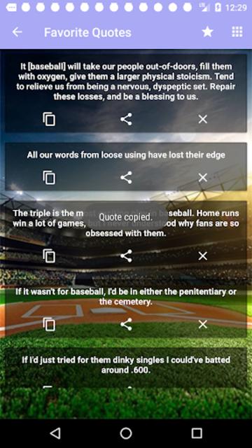Baseball Quotes screenshot 6