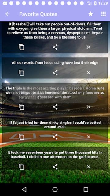 Baseball Quotes screenshot 7