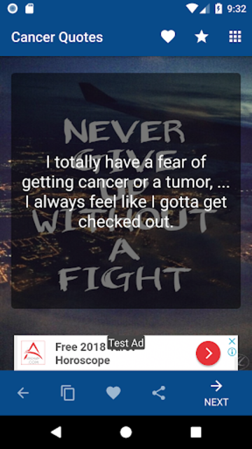 Cancer Support Quotes screenshot 2