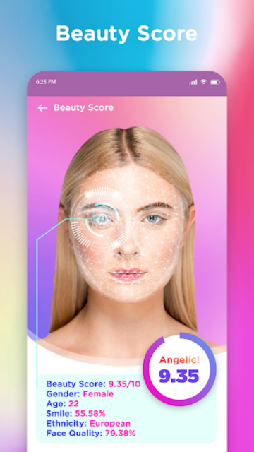 Golden Ratio Face - Face Shape & Rate Your Looks screenshot 2