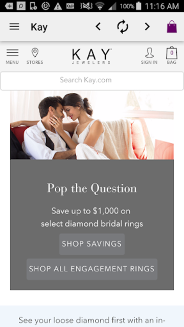 Kay Jewelers screenshot 1