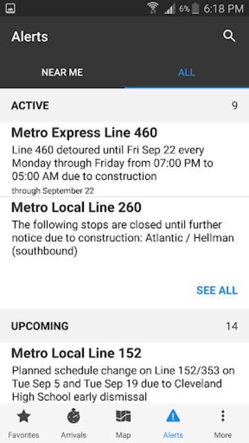 Go Metro LACMTA Official App screenshot 3