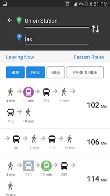 Go Metro LACMTA Official App screenshot 4