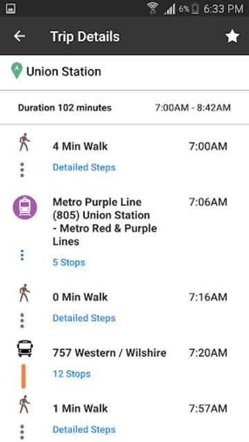Go Metro LACMTA Official App screenshot 5