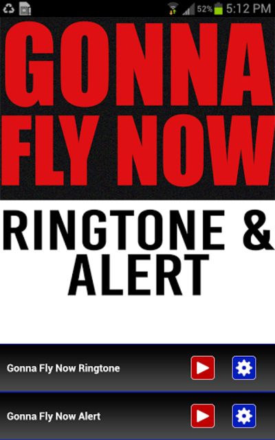 Gonna Fly Now Ringtone screenshot 1