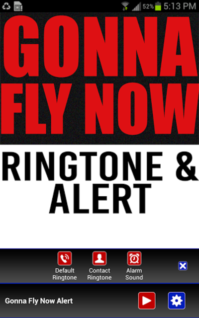 Gonna Fly Now Ringtone screenshot 2