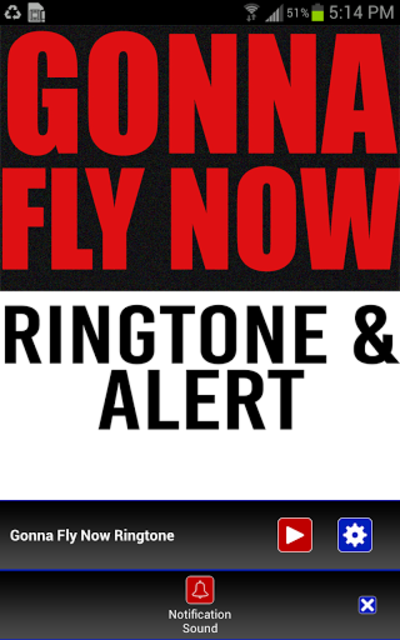 Gonna Fly Now Ringtone screenshot 3