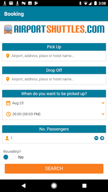 AirportShuttles.com Rides screenshot 1