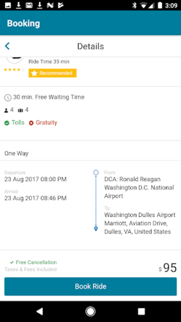 AirportShuttles.com Rides screenshot 3