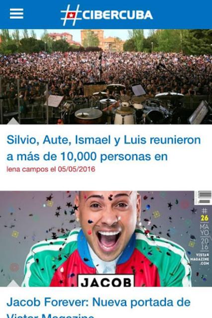 CiberCuba - Noticias de Cuba screenshot 3