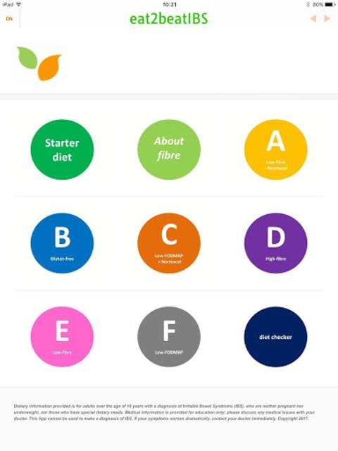 IBS Diet Match with low-FODMAP diet screenshot 2
