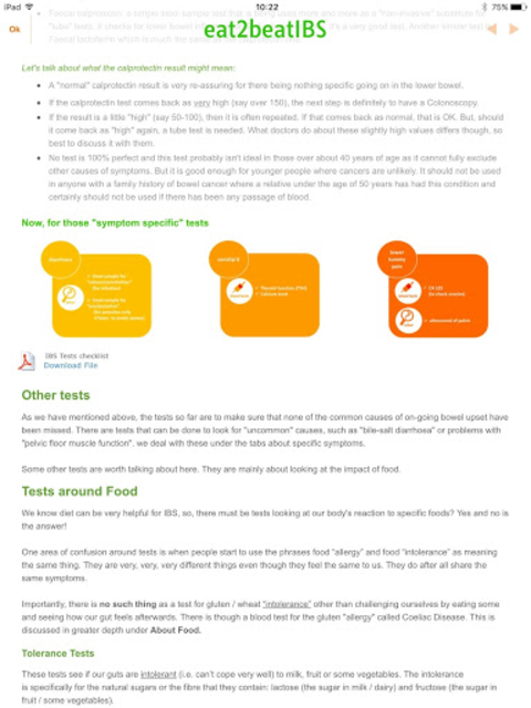 IBS Diet Match with low-FODMAP diet screenshot 4