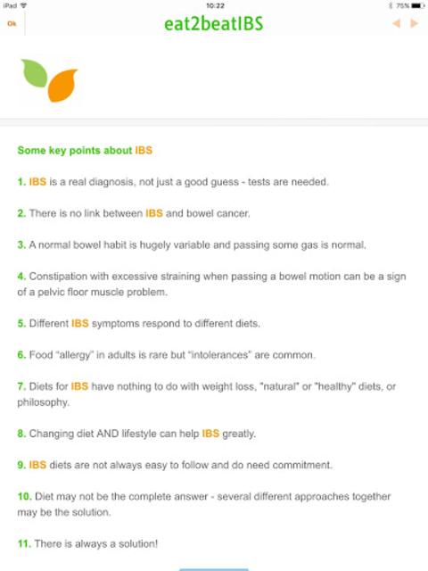 IBS Diet Match with low-FODMAP diet screenshot 7