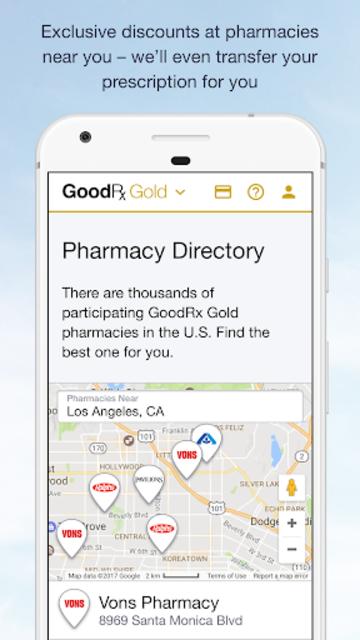 GoodRx Gold - Pharmacy Discount Card screenshot 3