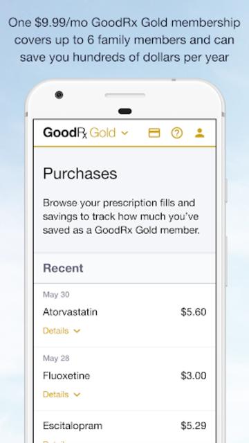 GoodRx Gold - Pharmacy Discount Card screenshot 4