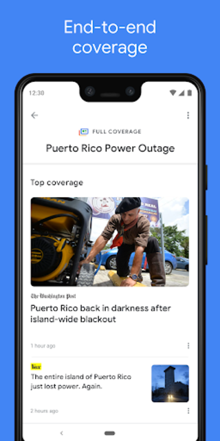 Google News: Top World & Local News Headlines screenshot 2
