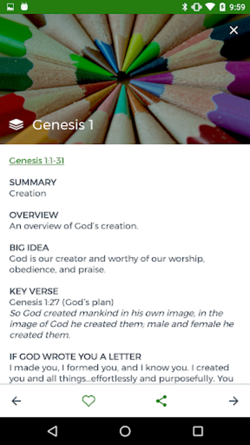 Bottom Line Bible screenshot 3