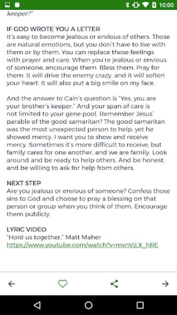 Bottom Line Bible screenshot 4