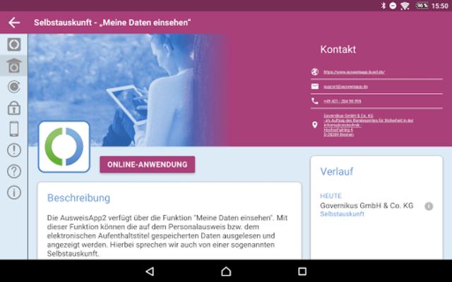 AusweisApp2 screenshot 17