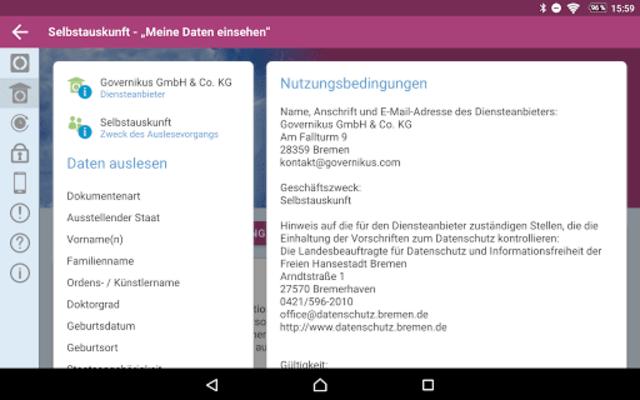 AusweisApp2 screenshot 18