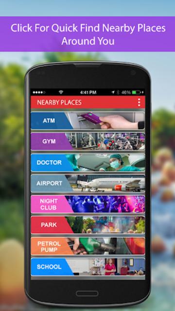 Route Finder Maps  GPS Navigation Directions screenshot 8