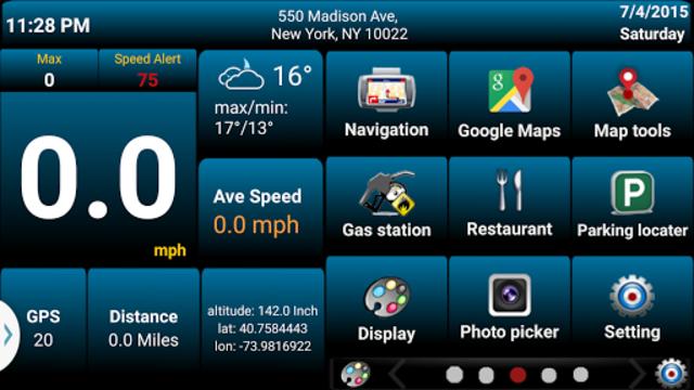 Car GPS Expert, Speed Limit &Floating speedometer. screenshot 7