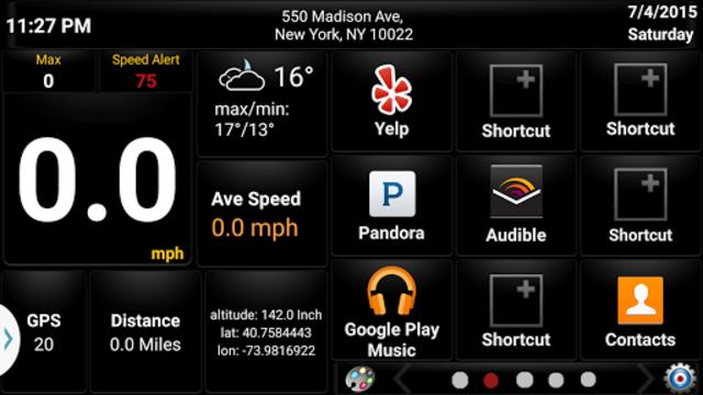 Car GPS Expert, Speed Limit &Floating speedometer. screenshot 8