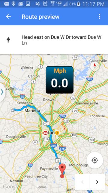 Car GPS Expert, Speed Limit &Floating speedometer. screenshot 16