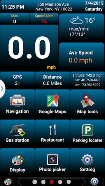 Car GPS Expert, Speed Limit &Floating speedometer. screenshot 3