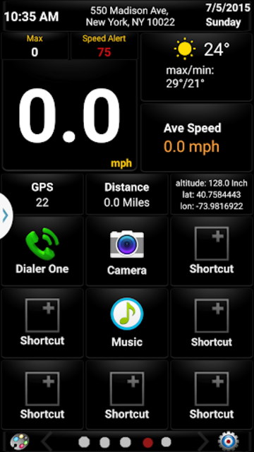 Car GPS Expert, Speed Limit &Floating speedometer. screenshot 4