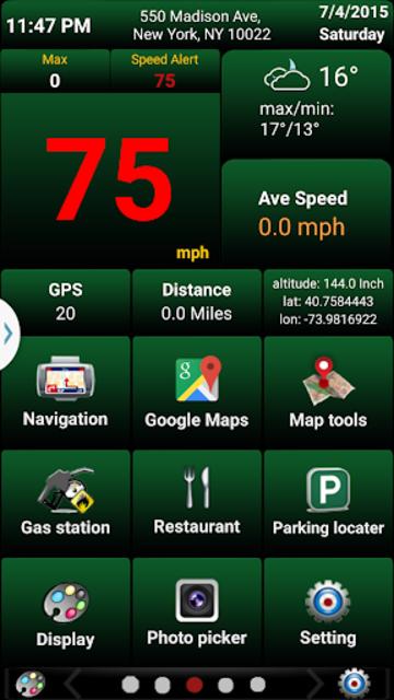 Car GPS Expert, Speed Limit &Floating speedometer. screenshot 5