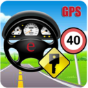 Icon for Car GPS Expert, Speed Limit &Floating speedometer.