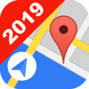 Icon for free GPS Location tracker, Map and Live Position