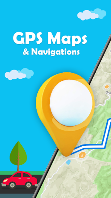 Maps.Go - Maps, Directions, GPS, Traffic screenshot 1