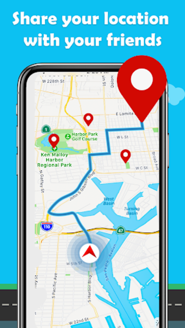 Maps.Go - Maps, Directions, GPS, Traffic screenshot 4