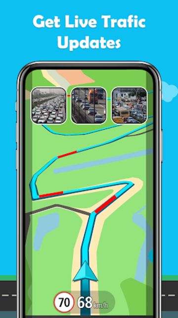 Maps.Go - Maps, Directions, GPS, Traffic screenshot 7