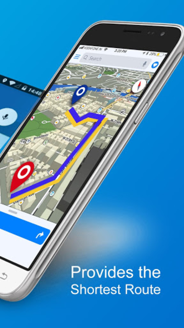 GPS, Maps, Directions, Traffic, Compass Navigation screenshot 2