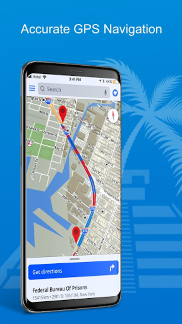 GPS, Maps, Directions, Traffic, Compass Navigation screenshot 3