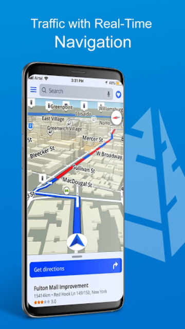 GPS, Maps, Directions, Traffic, Compass Navigation screenshot 4