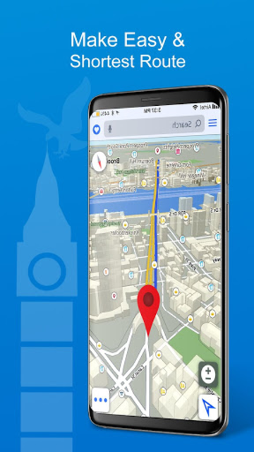 GPS, Maps, Directions, Traffic, Compass Navigation screenshot 14