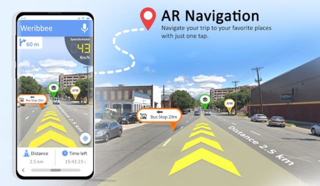 GPS Maps Navigation - Driving Route Planner Free screenshot 3