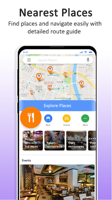 GPS Maps Navigation - Driving Route Planner Free screenshot 6