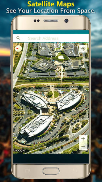 GPS Satellite Live Maps Navigation & Direction screenshot 5