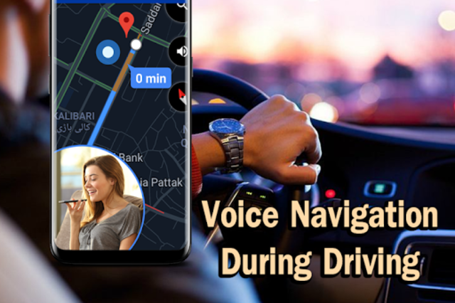 GPS Map Navigation, Voice GPS Driving Directions screenshot 4