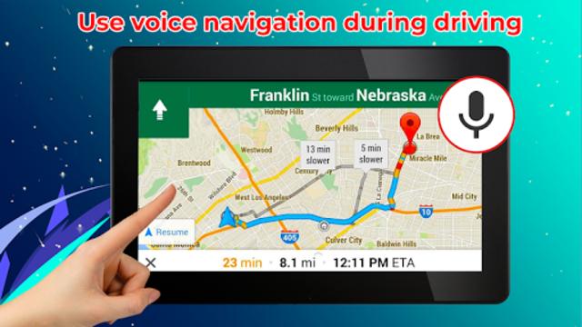 GPS Live Street View, Voice Route & Offline Maps screenshot 14